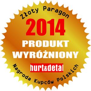 wyróżnienie w konkursie Złoty Paragon 2014