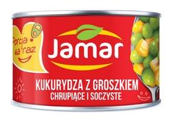 Kukurydza z Groszkiem konserwowa – mała i wygodna puszka 160g